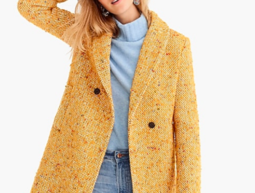 How to Find the Perfect Winter Coat -Daphne topcoat in Italian tweed