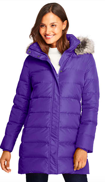 Lands' End Puffer Coat