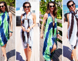 Santo Wrap - Perfect Beach Cover-up and Wrap