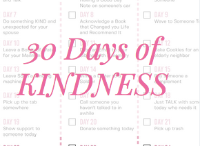 30 Days of Kindness Challenge