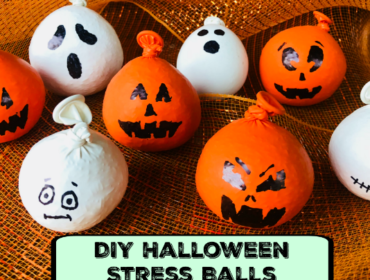 DIY Halloween Pumpkin Stress Balls - Easy and Fun Stress and Anxiety Relievers