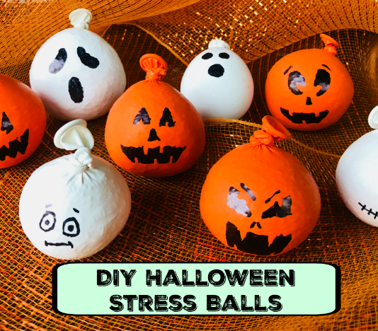 DIY Halloween Stress Balls - Easy and Fun Stress and Anxiety Relievers