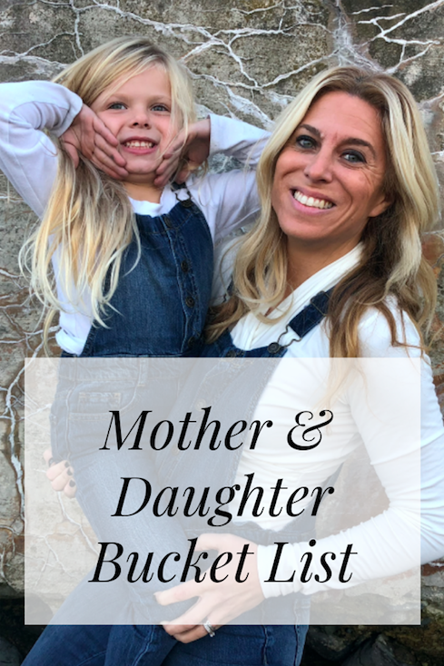 Mother and Daughter Bucket List