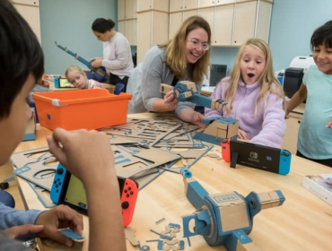 Nintendo will provide Nintendo Labo: Variety Kits and Nintendo Switch systems to participating classrooms to reinforce skills such as communication, creativity and critical thinking. The program aims to reach approximately 2,000 students ages 8 to 11 during the 2018-2019 school year.