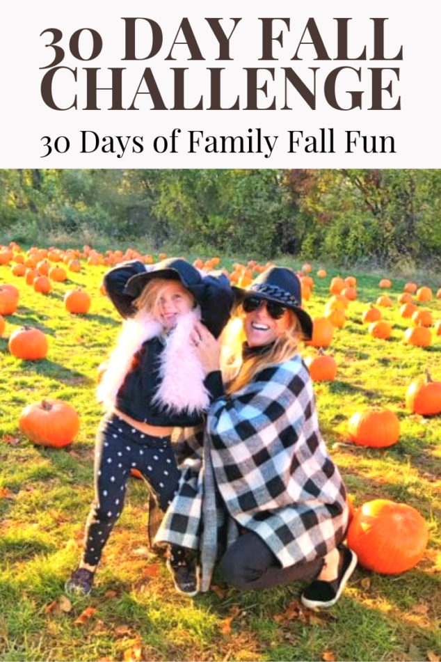 30 Day Family Fun Challenge - 30 Activities to Try this Fall