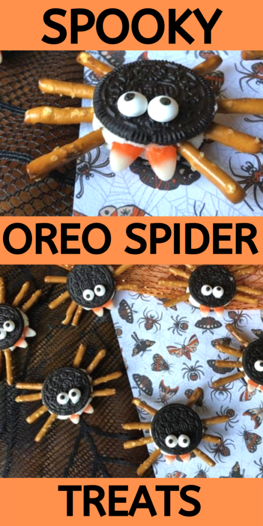 HALLOWEEN TREAT: SPOOKY OREO SPIDER TREATS