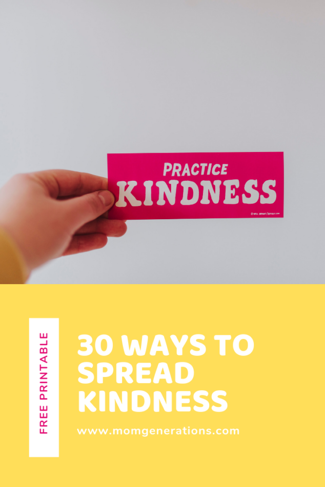 30 Days of Kindness
