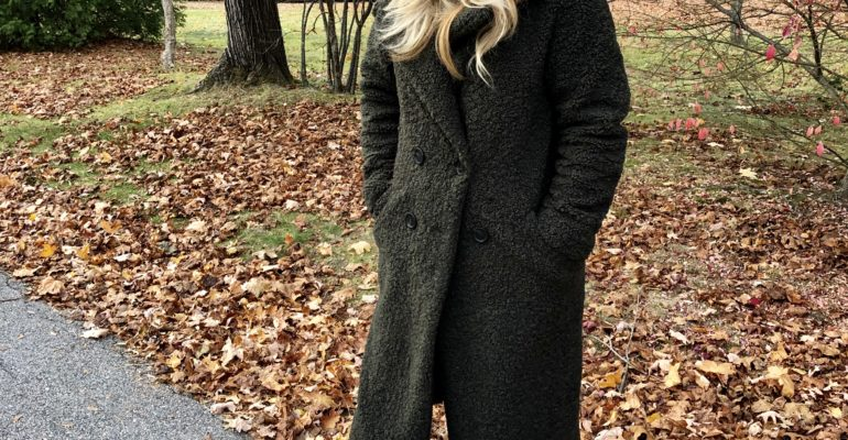 ZARA Teddy Coat - Best Winter Coat