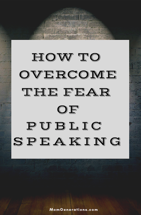 Overcoming Fear of Public Speaking
