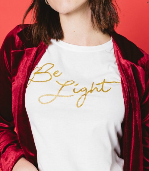 Be Light Holiday Tee