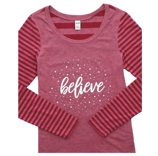 Believe Holiday Tee