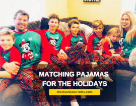 Matching Pajamas for the Holidays