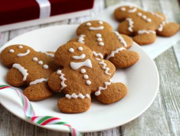 Gluten Free Gingerbread Men Cookies Recipe