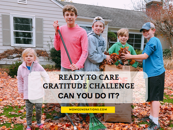 Ready to Care Gratitude Challenge