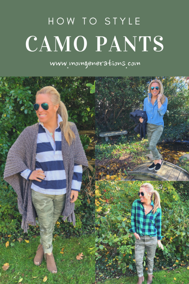 What to Wear with Camo Pants