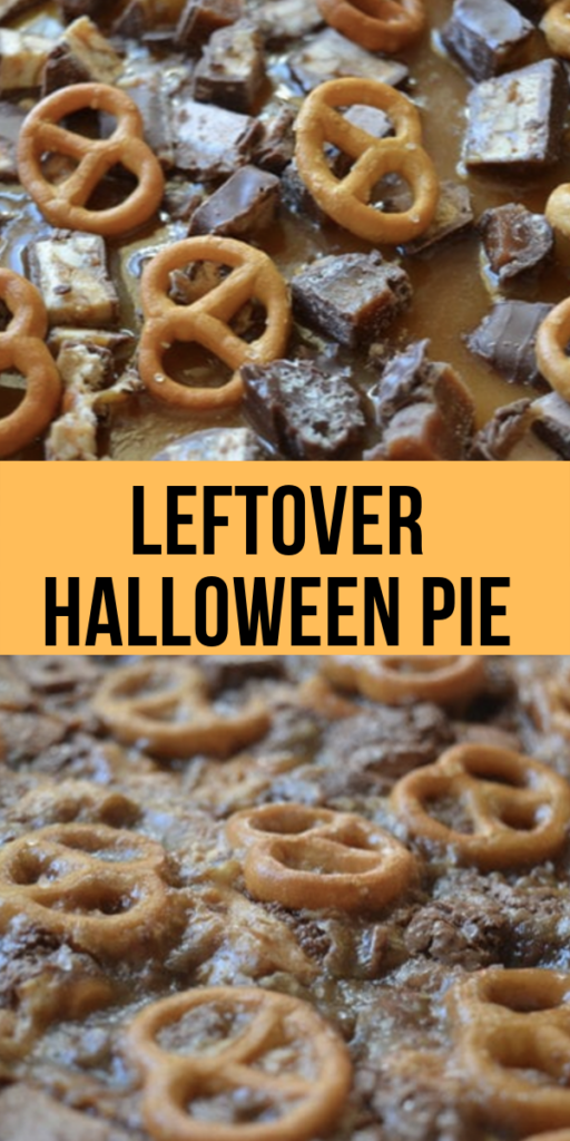 Leftover Halloween Pie