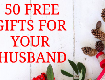 50 FREE Holiday Gifts for your Husband
