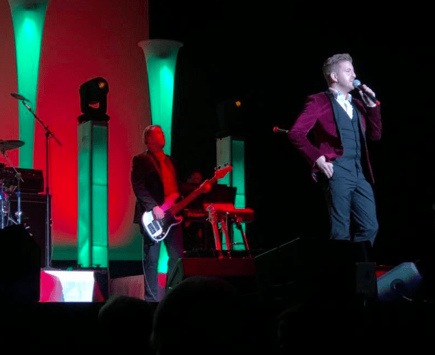 Billy Gilman Christmas Concert with Dunkin'