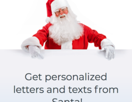 How can you get a Personalized Letter from Santa