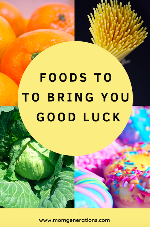 Foods to Eat to bring you Good Luck