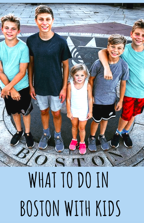 What to Do in Boston with Kids