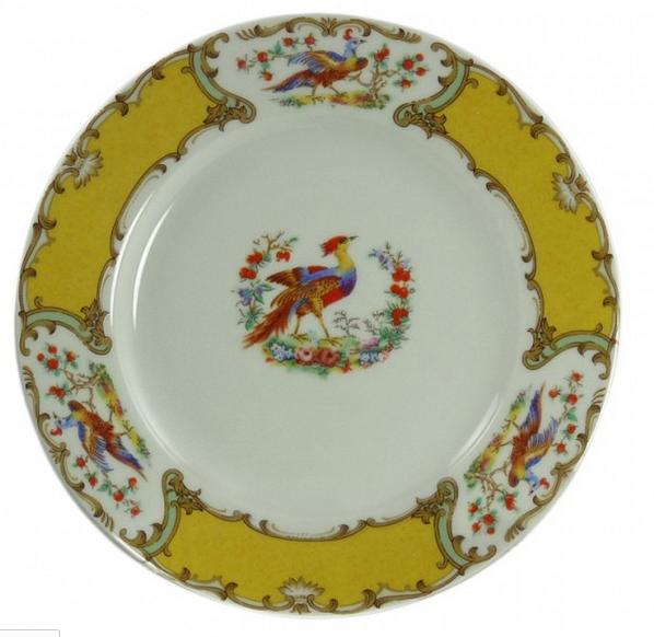 Newport Mansions Chelsea Bird Dinner Plate