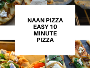 NAAN PIZZA - EASY 10 MINUTE PIZZA