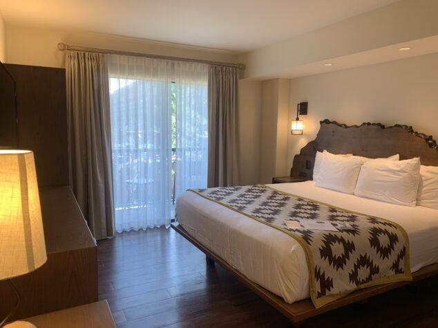 Bedroom suite at Disney Wilderness Lodge