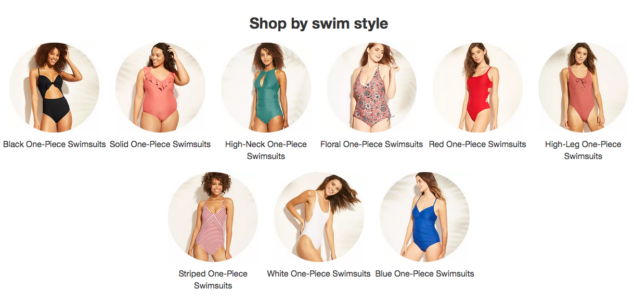 One Piece Bathing Suits Target Style