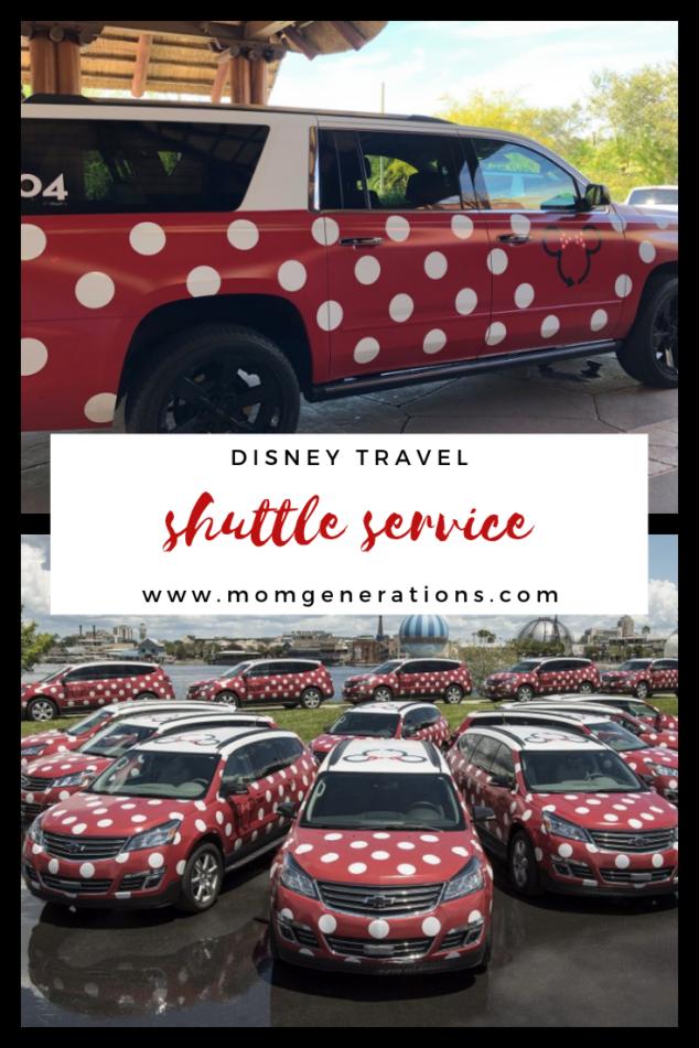 Minnie Mouse Van Shuttle Service