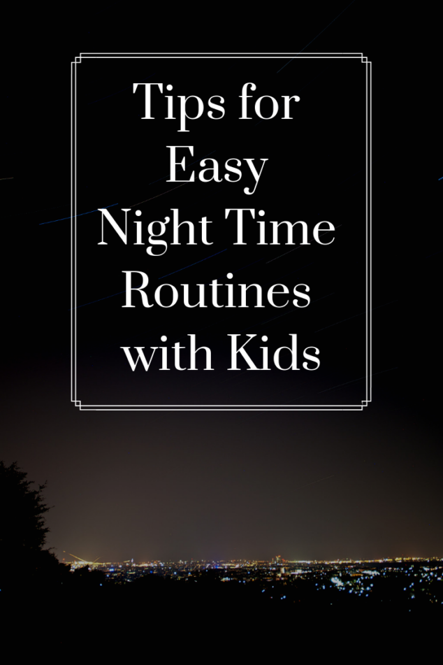 Night Routine with 5 Kids