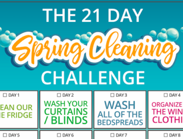 Cleaning List for Families