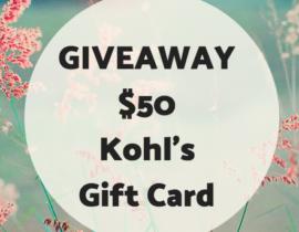 Kohl's Giveaway