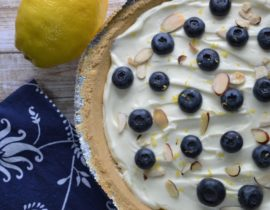 No Bake Lemon Mascarpone Pie