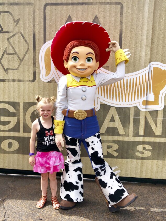Meeting Jessie - Toy Story Land