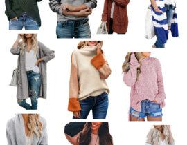 Cheap amazon sweaters