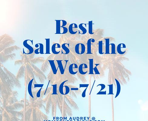 Best Sales of the Week