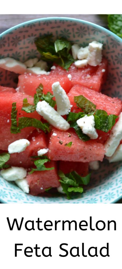 Watermelon Feta Salad - Perfect Summer Recipe
