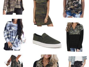 Cute Camo Outfits to Find on Amazon