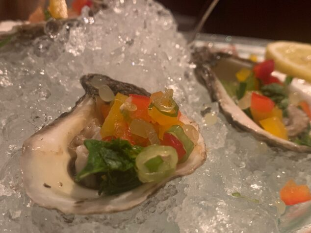 Grilled Oysters - Dinner Date Night