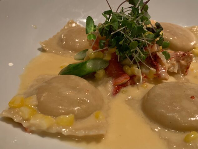 Dinner Date Night - LOBSTER RAVIOLI