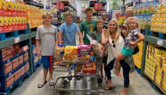 BJ's Wholesale Club Back to School Haul