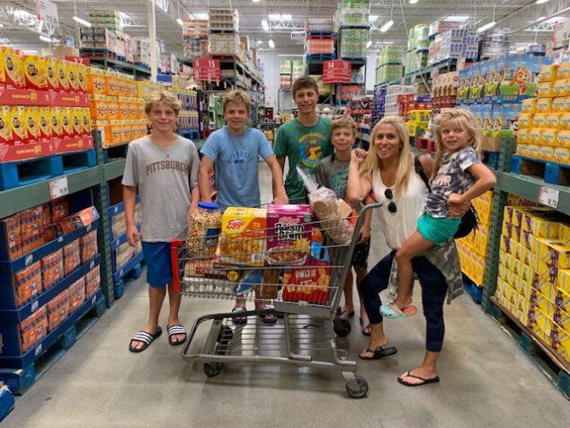 BJ's Wholesale Club Back to School Haul
