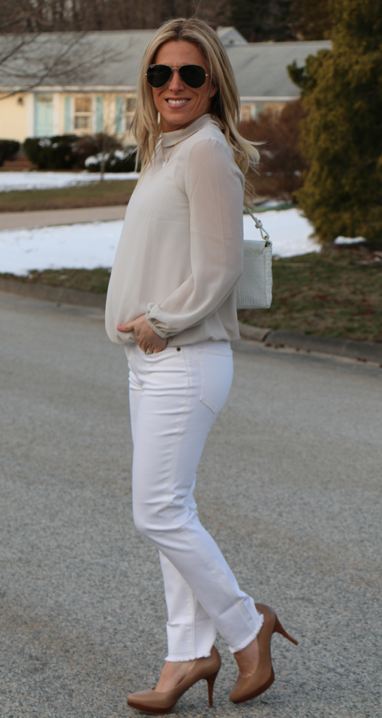Ways to Wear White jeans