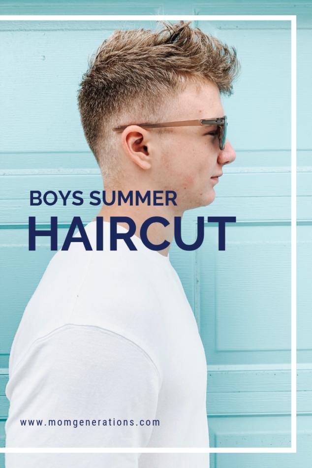Boys Summer Haircut