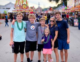 The McClelland Family at The Big E