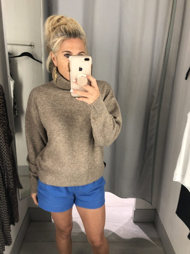 Turtleneck Sweater for Fall