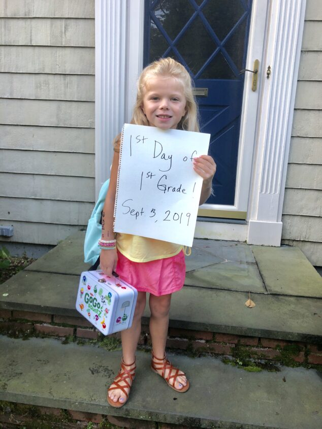 1st Day of School for the McClellands