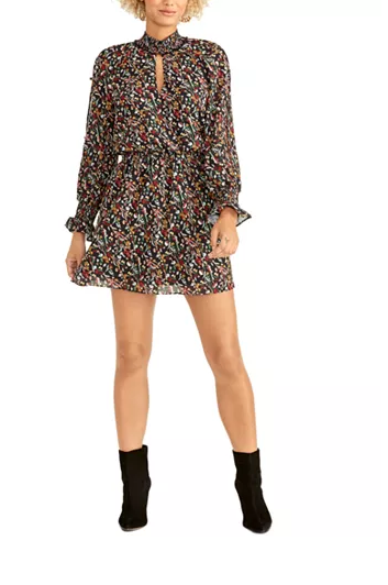 Fall Floral Dresses for Moms