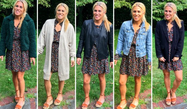 5 Ways to Style a Fall Dress